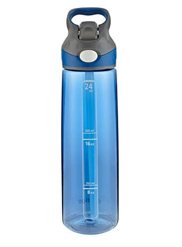 Contigo AUTOSPOUT Straw Addison Water Bottle, 24 oz., Monaco $9.07 @amazon