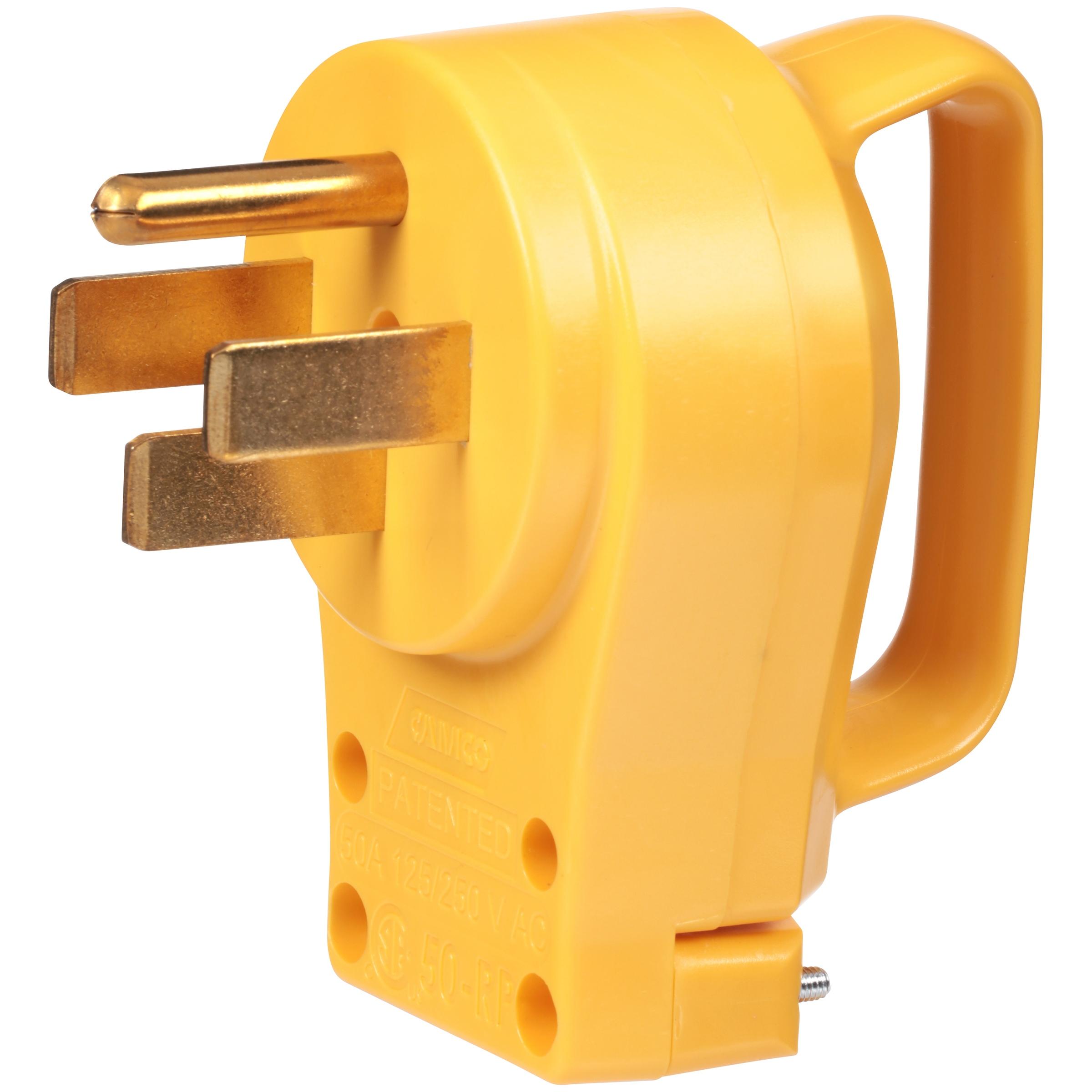 Camco PowerGrip Replacement Plug- PoweGrip Cord 50 AMP ($10.47) @Amazon