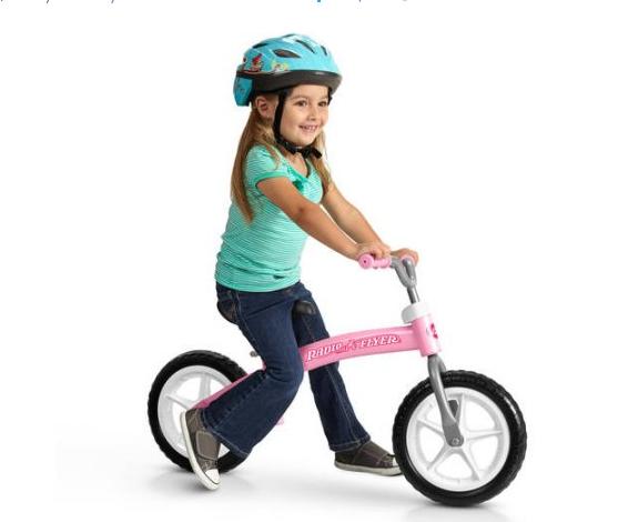 Radio Flyer Glide & Go Balance Bike, Pink $36.53@walmart.