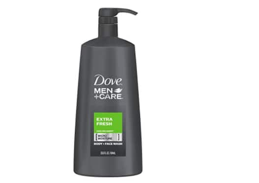 Dove Men+Care Body and Face Wash, Extra Fresh, 23.5 oz $7.34 & FS [Add-on Item] @Amazon.