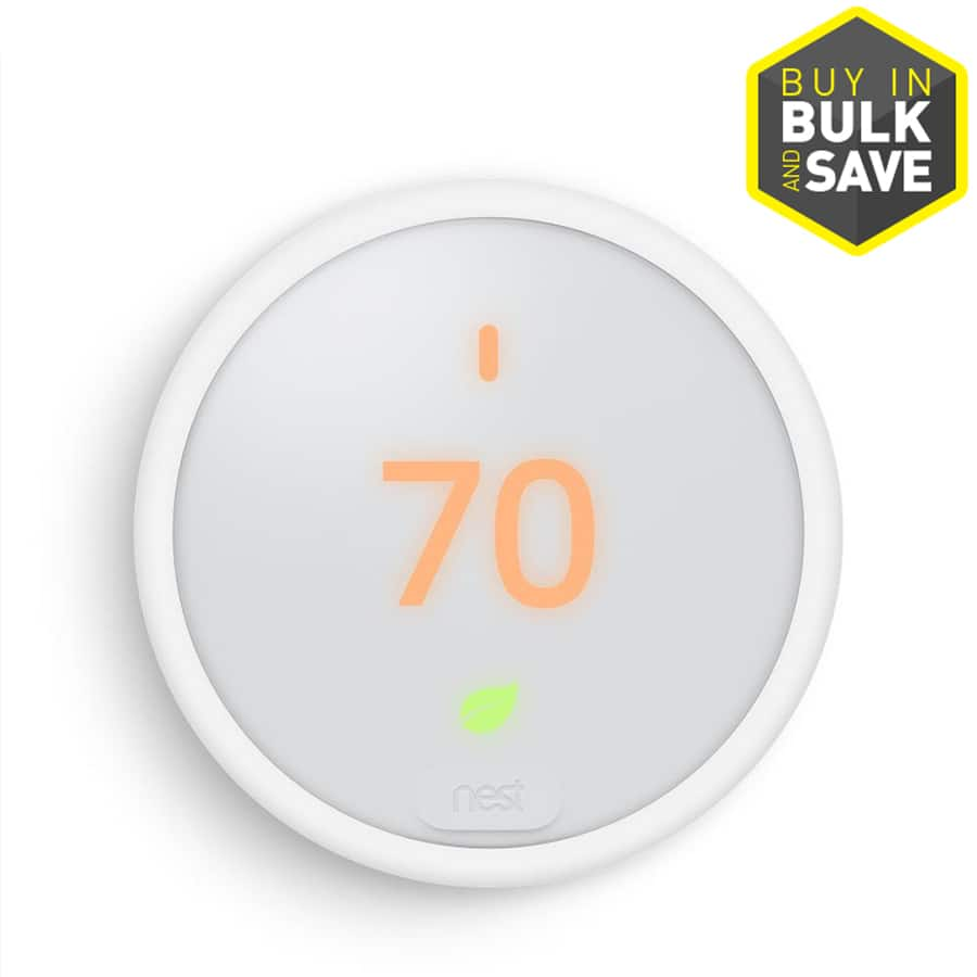 nest e thermostat with built-in wi-fi