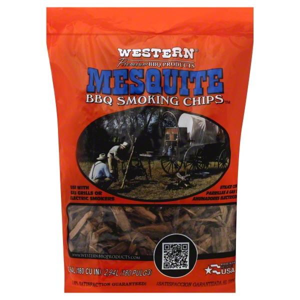 $1.88 ea Western Smokin' Chips, Mesquite (MUST BUY 2)
