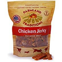 15% off Amazon's Farmland Tradition's Dog Jerky. 3 lb. Chicken Jerky ($26.43) & 2 lb. Pork Jerky ($24.61)