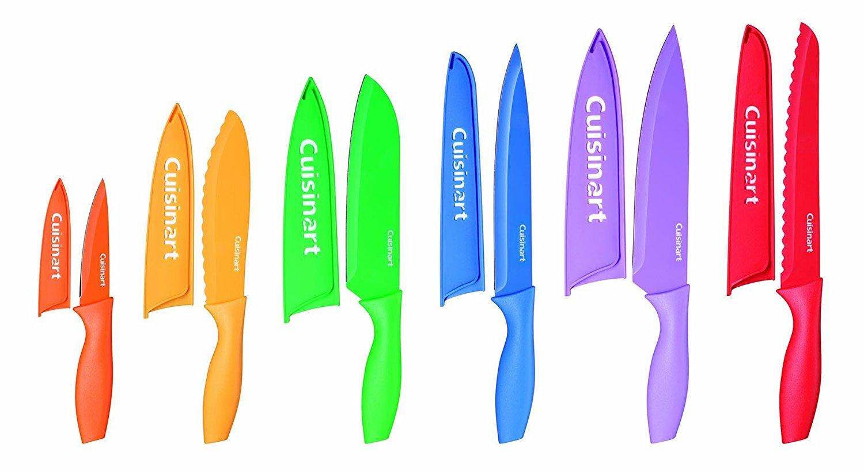 Cuisinart Advantage Color Collection 12-Piece Knife Set - $11.85 @ Amazon, lowest price ever.