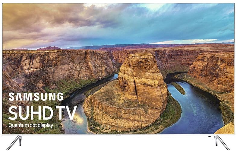 """Samsung KS800 Series 55"""", 60"""", and 65"""" LED 4K Ultra HD Smart TVs (Refurbished) 65""""for $989 and 55"""" for $689"""