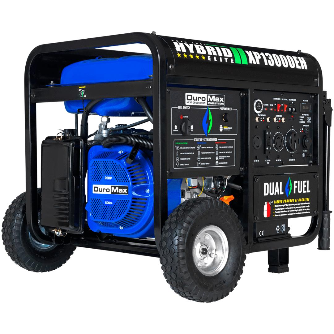 DuroMax 13000-Watt Gasoline/Propane Portable Generator ($971 w/ 10% Discount) OR $1079