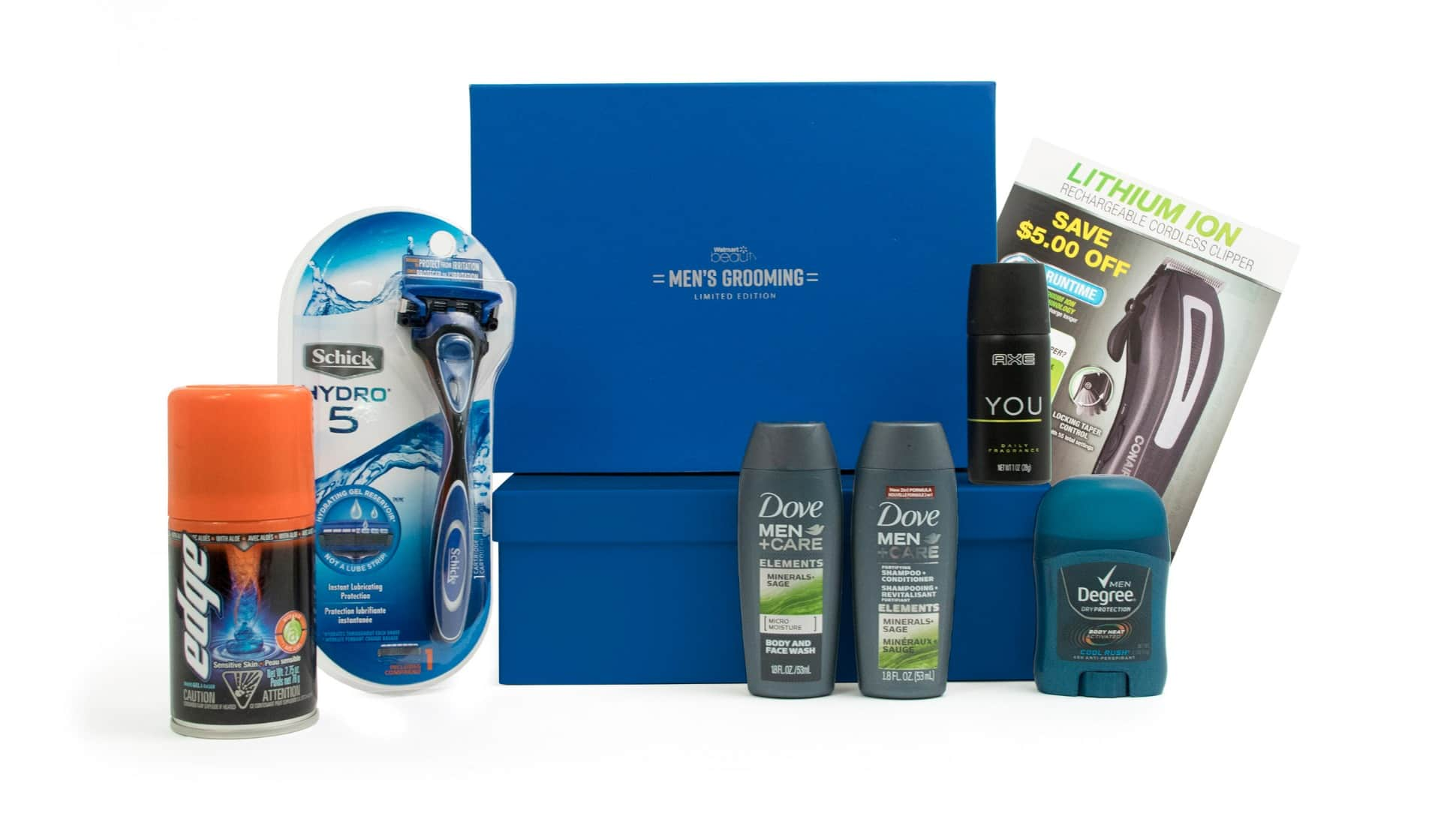 Walmart Limited Edition Men's Grooming Box $7 + Free Shipping