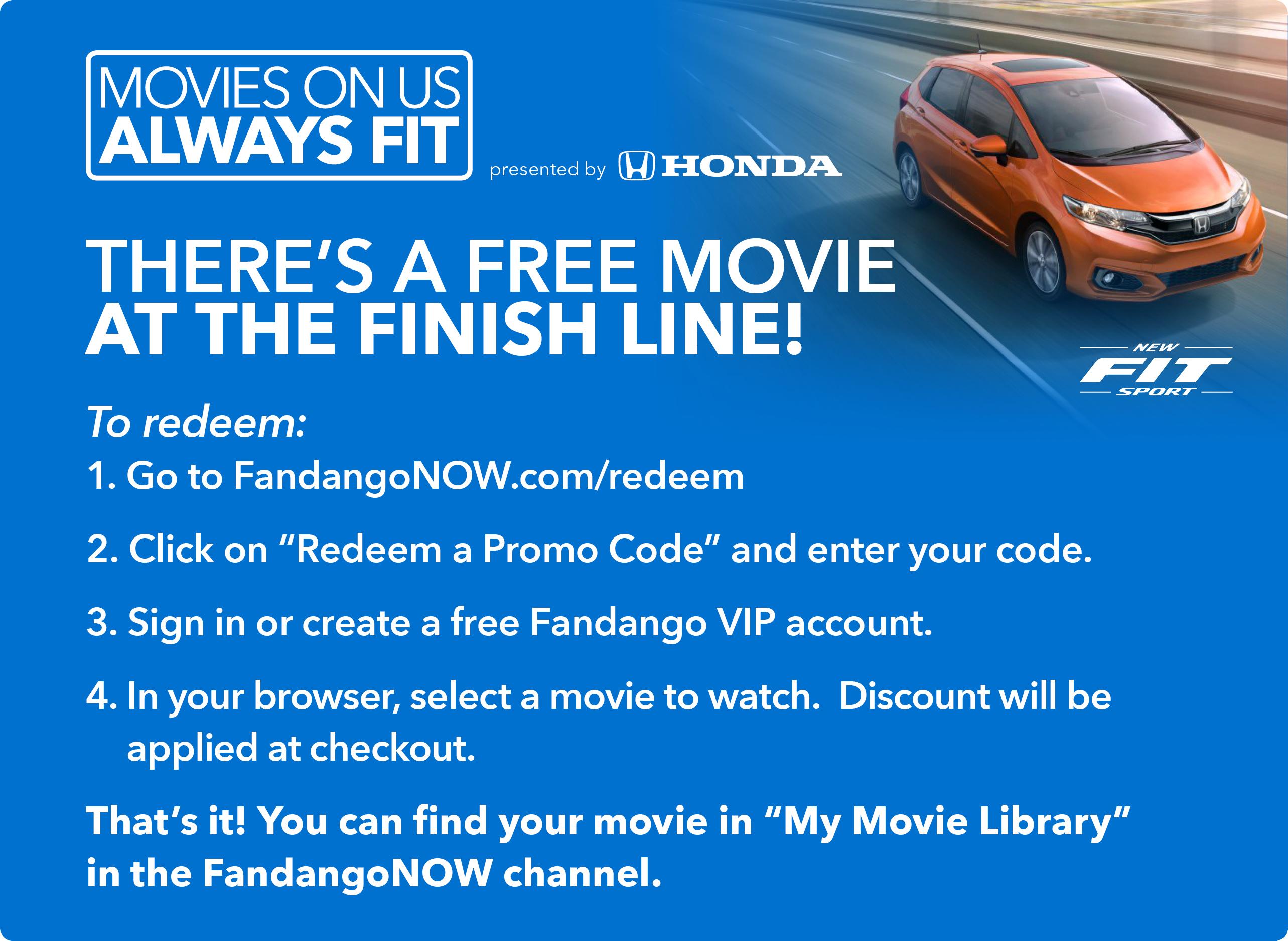 ROKU USERS** free $4 99 credit for movie rental @ FandangoNow YMMV
