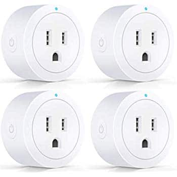 Smart Plug, KMC WIFI MiNi Outlet (4 pack) $19.19 + KMC 4 Outlet WiFi Smart Plug $10.80 = $29.98 + FS - KMC via amazon.com (4 pack can be purchased w/o second item for price listed)