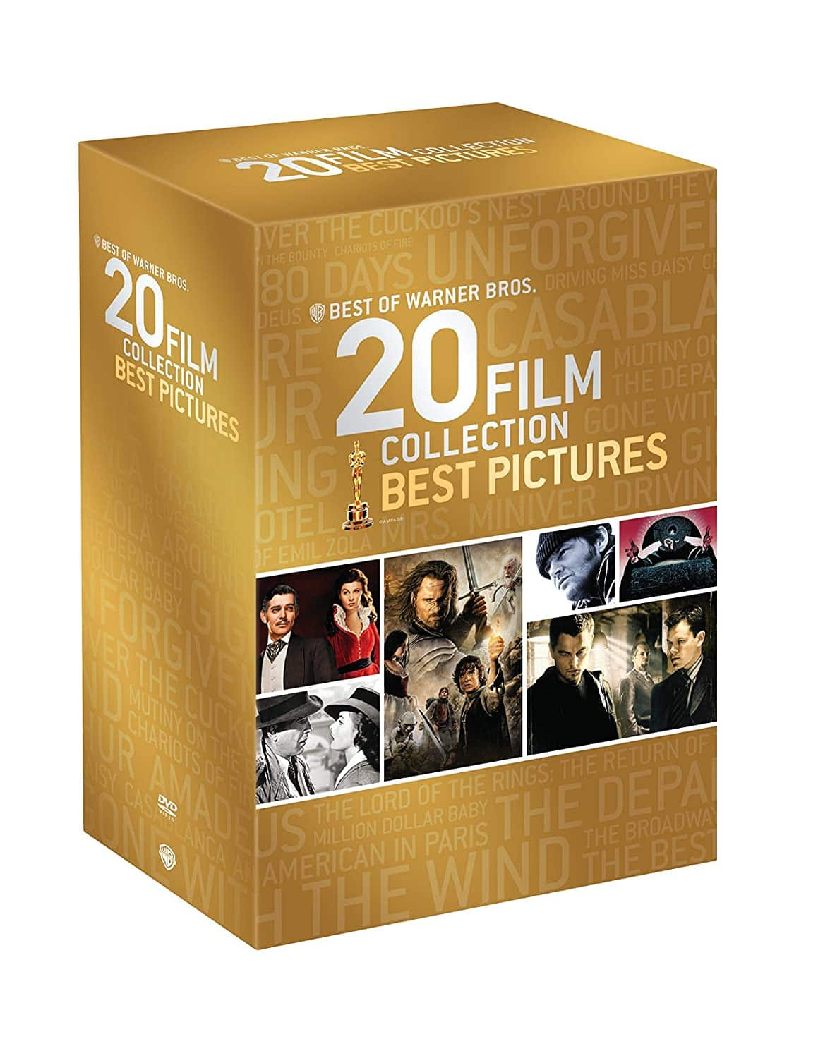 Best of Warner Bros 20 Film Collection: Best Pictures Oscar Winners - $19.96 on Amazon
