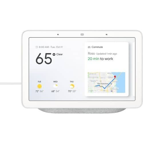 Google Nest Hub - YMMV at Best Buy and iBotta $59