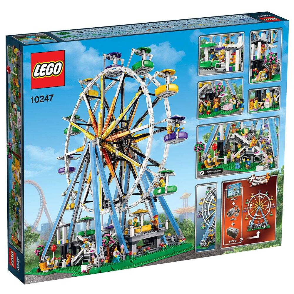 LEGO Creator Expert Ferris Wheel 10247 Construction Set $160