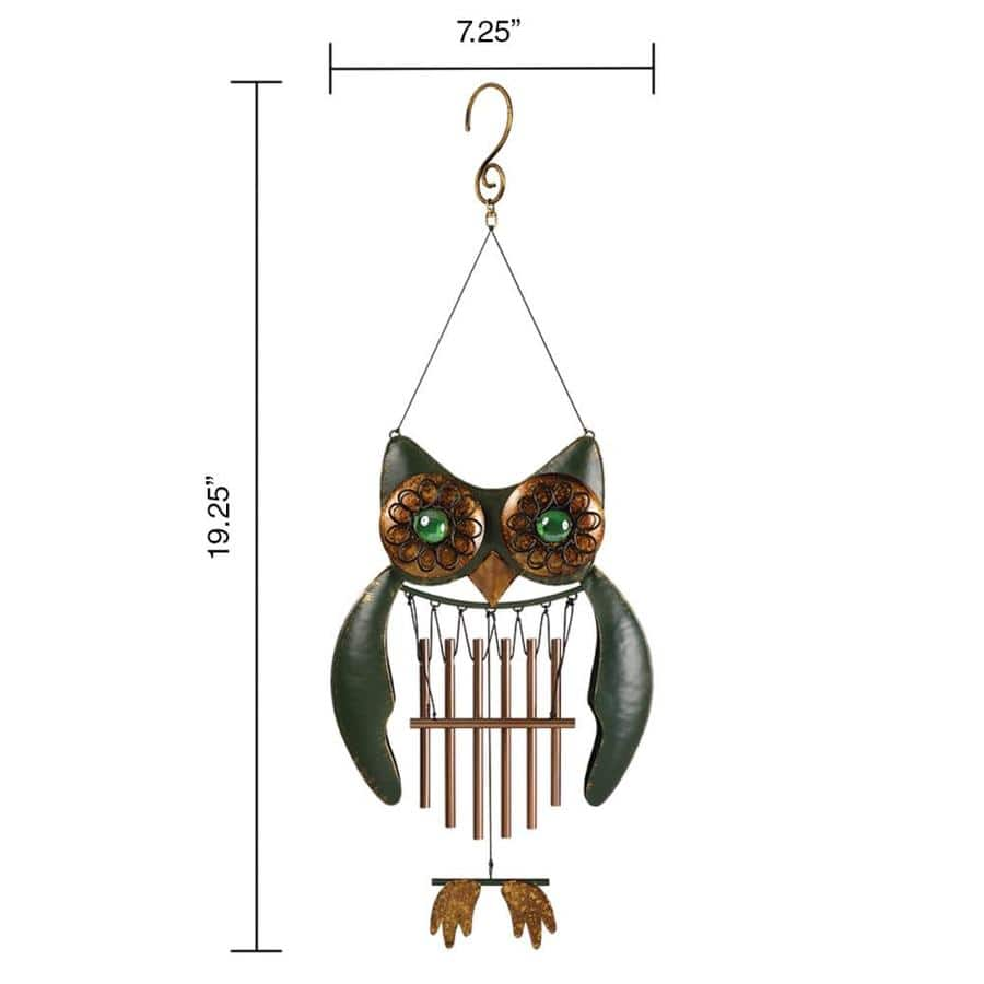 Lowe's - 75% Off of Garden Treasures Metal Wind Chimes - Starting at $2.49 - YMMV