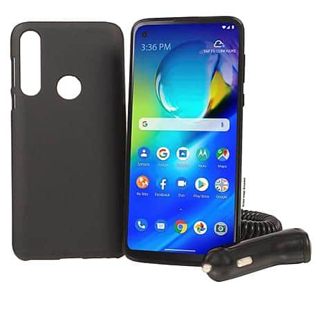 """Tracfone  Motorola Moto G 6.4"""" HD+ Tracfone with 1500 Min/Text/Data for 365 Days $174.99"""