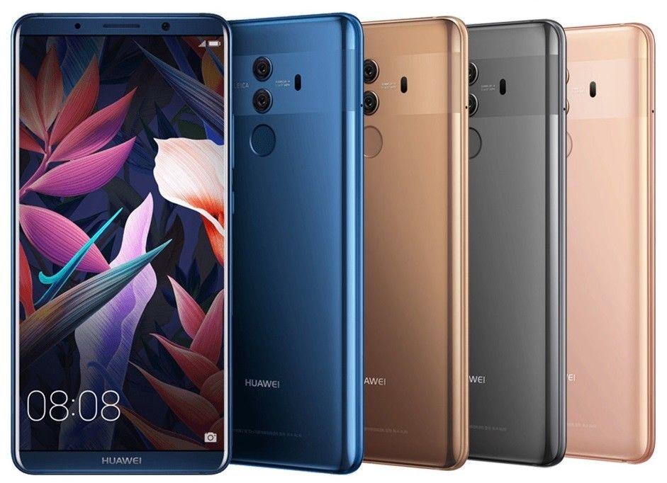 Huawei Mate 10 Pro BLA-L29 128GB & Huawei Mate 10 ALP-L29 64GB (FACTORY UNLOCKED) Smartphones $698.99