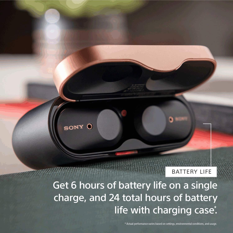Sony WF-1000XM3 Noise Canceling Truly Wireless Earbuds $178 @ Amazon