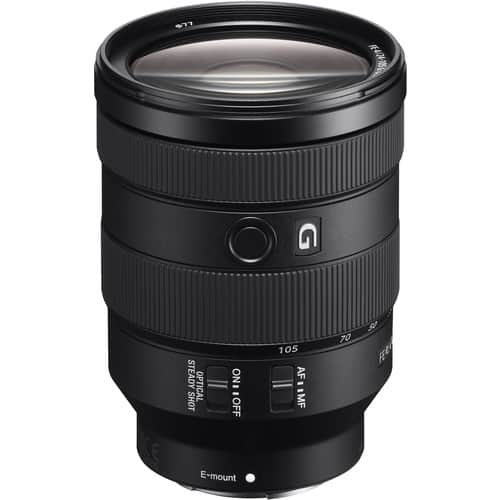 Sony - FE 24-105mm F4 G OSS Standard Zoom Lens (SEL24105G/2) $1098.00 + Free S/H at Amazon