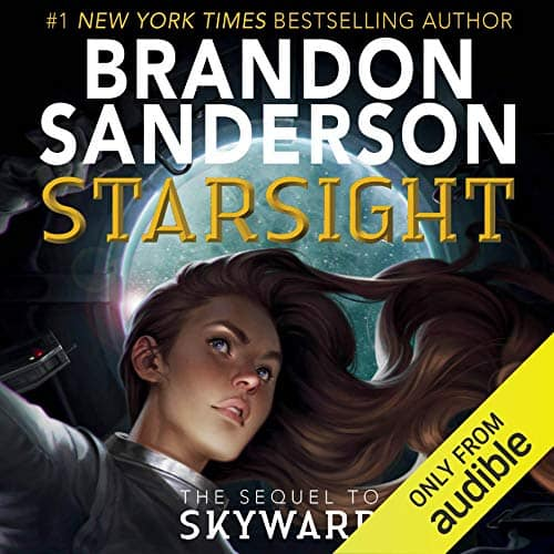 Starsight by Brandon Sanderson Audible Audiobook $6 Audible Membership Required