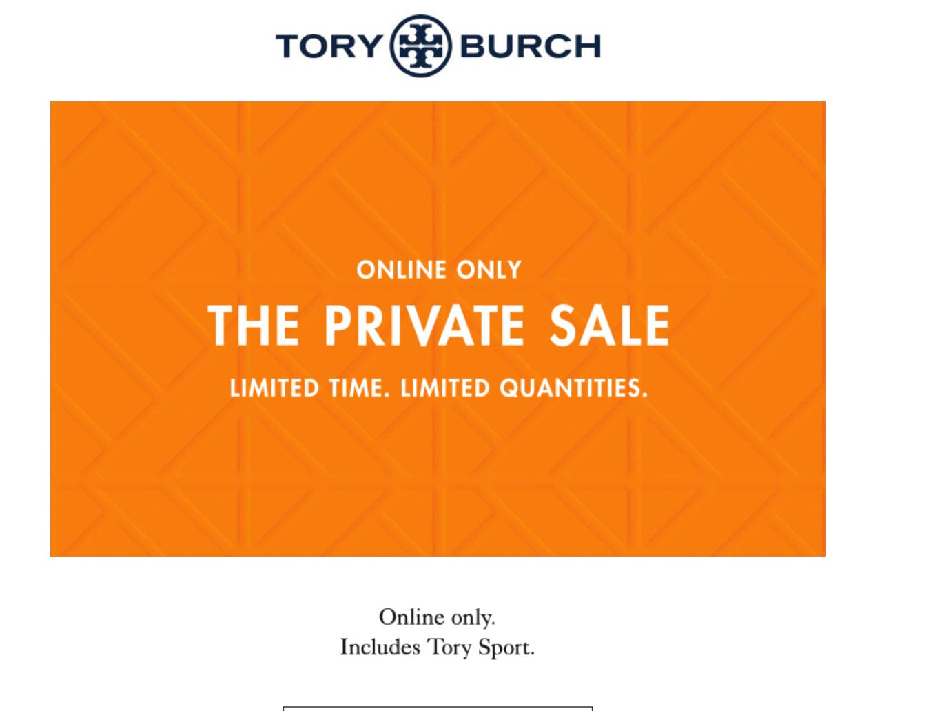 78f774e0bd3f Tory Burch Private Sale - Slickdeals.net