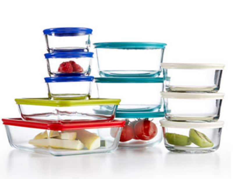 Pyrex 22 Piece Food Storage Container Set, Created for Macy's $24.99