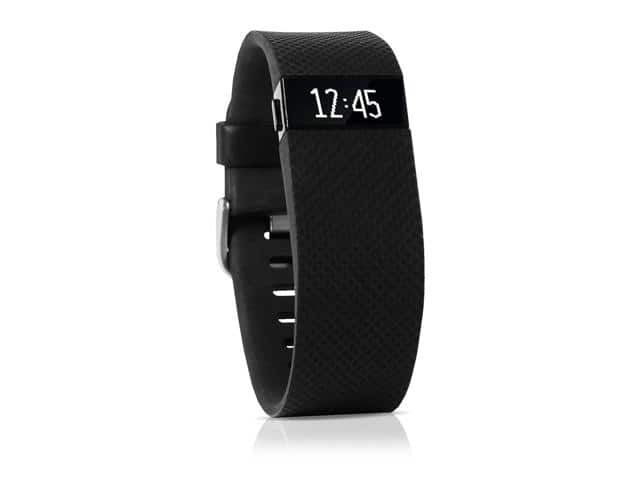 Fitbit Charge HR Heart Rate & Activity Fitness Monitor Wristband - Black - Small - $59.99