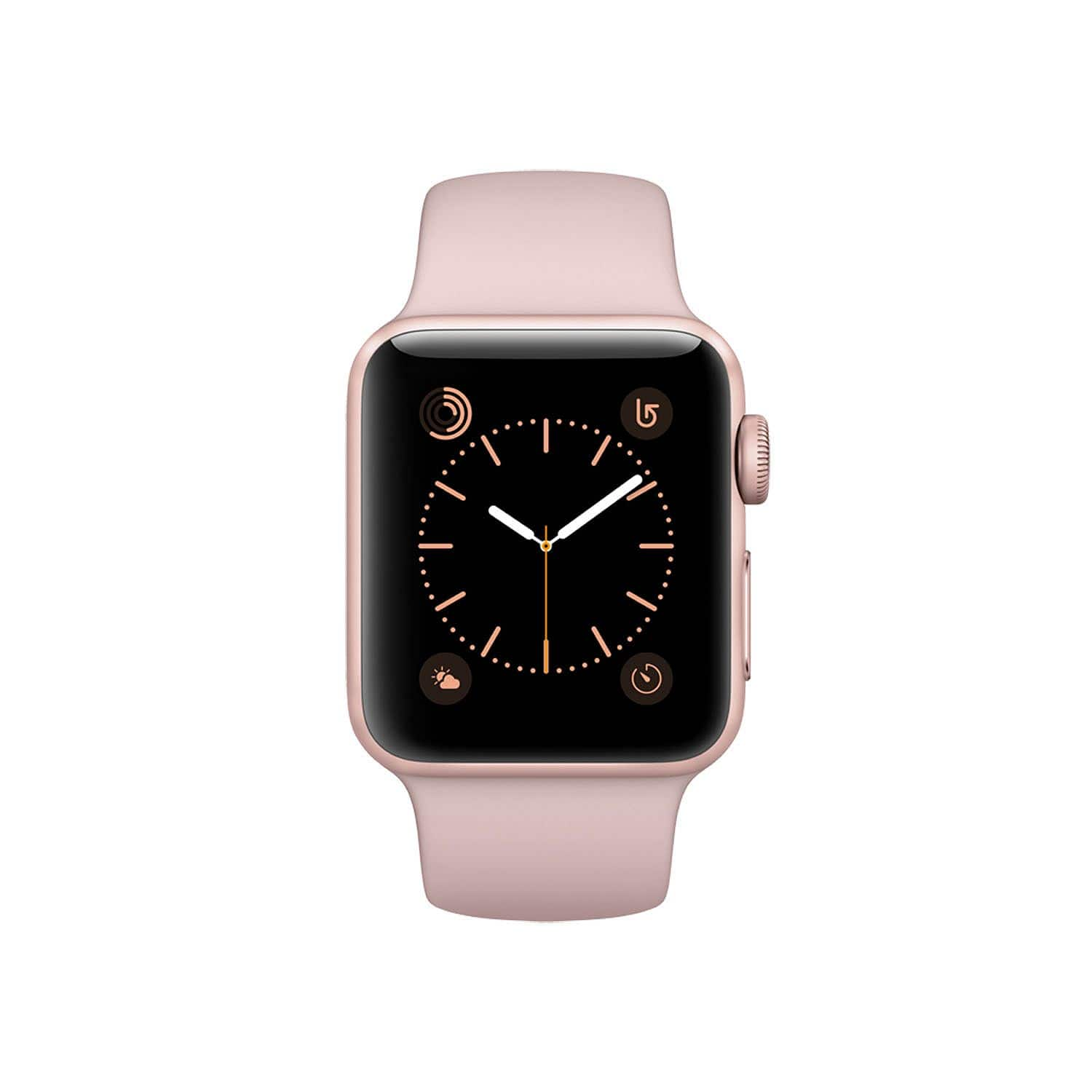 apple watch series 2 rose gold 38mm for 257 at sam 39 s club. Black Bedroom Furniture Sets. Home Design Ideas