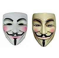 Amazon Deal: V for Vendatta mask (2pcs). $3.89 shipped.