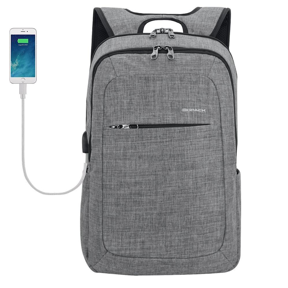 KOPACK Slim Business Laptop Backpack $19.50 on Amazon