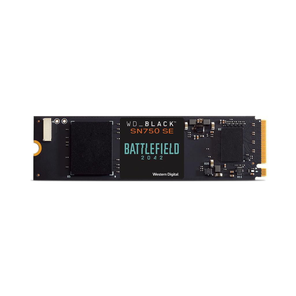 WD_BLACK SN750 SE NVMe™ SSD Battlefield™ 2042 PC Game Code Bundle - $114.99