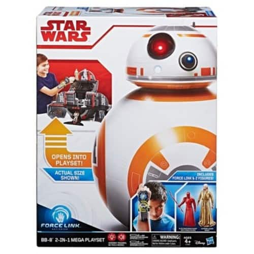Star Wars Force Link BB-8 2-in-1 Mega Playset including Force Link  $118.99 or $84.78 after 25% off coupon and 5% REDcard discount (Reg. $199)
