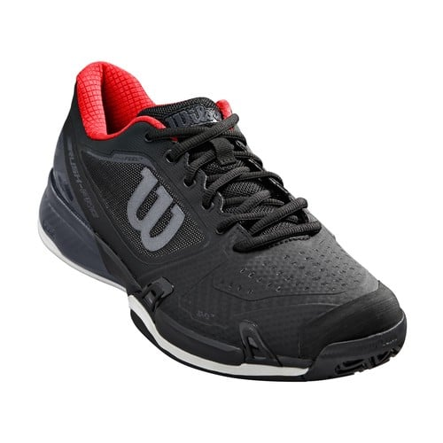 Up to 75% off on Wilson Men's Rush Pro 2.5 Tennis Shoe - Men / Women / Kids $25.32