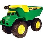 "John Deere 21"" big scoop dump truck $25.99 on amazon- real steel parts"