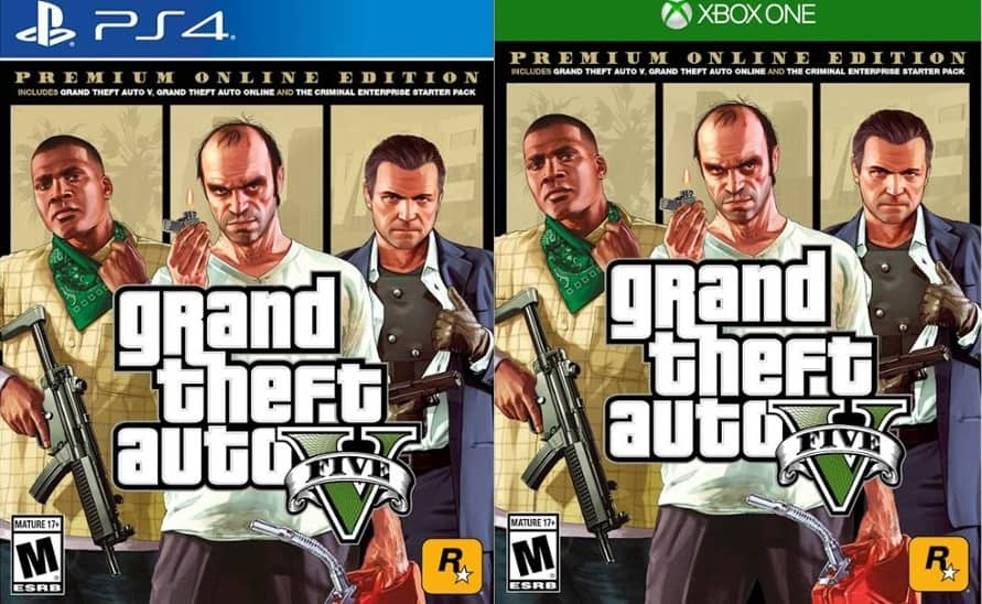 Grand Theft Auto V: Premium Online Edition (PS4 or Xbox One
