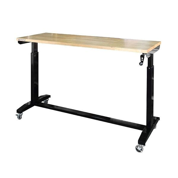 "$150 Home Depot Husky 62"" Adjustable Workbench Table YMMV B&M"