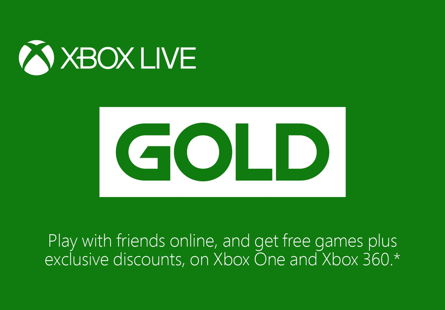 Xbox Live 12 Month Subscription - 30,000/29,000 Microsoft Rewards