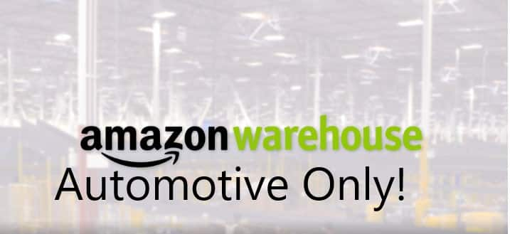 Amazon Warehouse Automotive deals Filtered by Vehicle Fit! $1