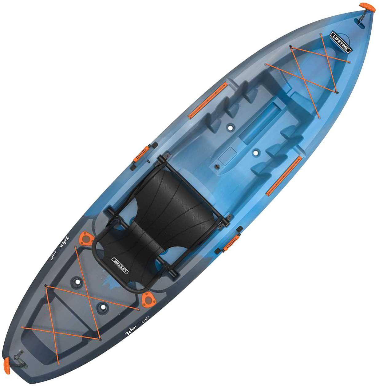 Lifetime Teton Angler Fishing Kayak (Full size seat) $280 + 10% cashback Free pickup Dicks sporting goods.