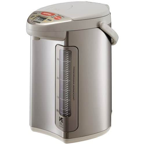 Zojirushi Water Boilers and Warmers - 4L CV-DSC40 VE Stainless $138.25, CD-WBC40 $80.98, FREE SHIPPING