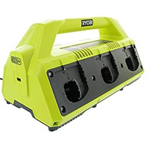 Ryobi P135 18V One+ 6 Port Lithium Ion Battery Supercharger - $79 or $51.63