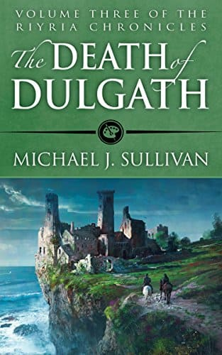 Free Kindle Edition - The Death of Dulgath (The Riyria Chronicles Book 3) add Audible for $1.99