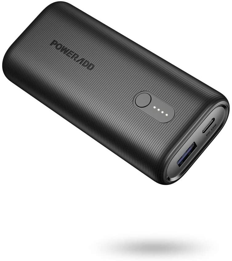 POWERADD EnergyCell Ⅱ 10000mAh Power Bank PD 18W USB C $10.99
