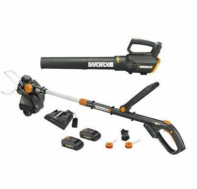 WORX 20V GT Revolution trimmer + blower combo $143