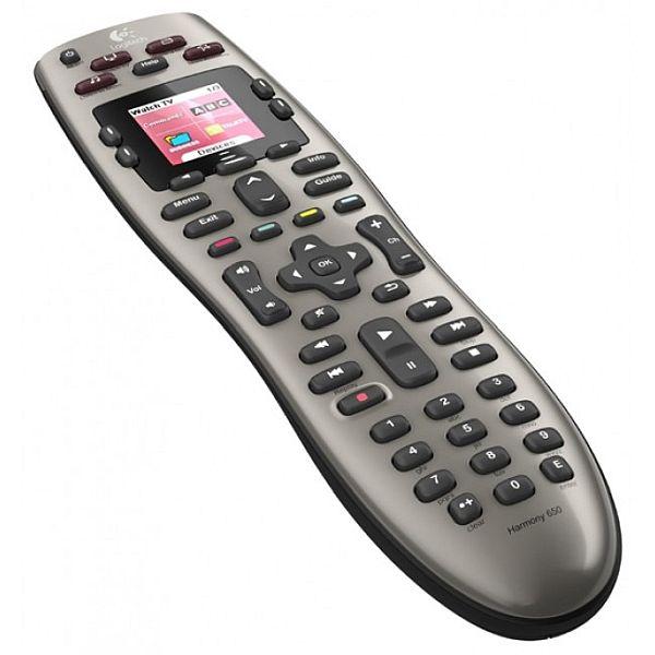 iTechDeals - Logitech Harmony 650 - 8 Device Universal Remote Control (Refurbished) - $28.99