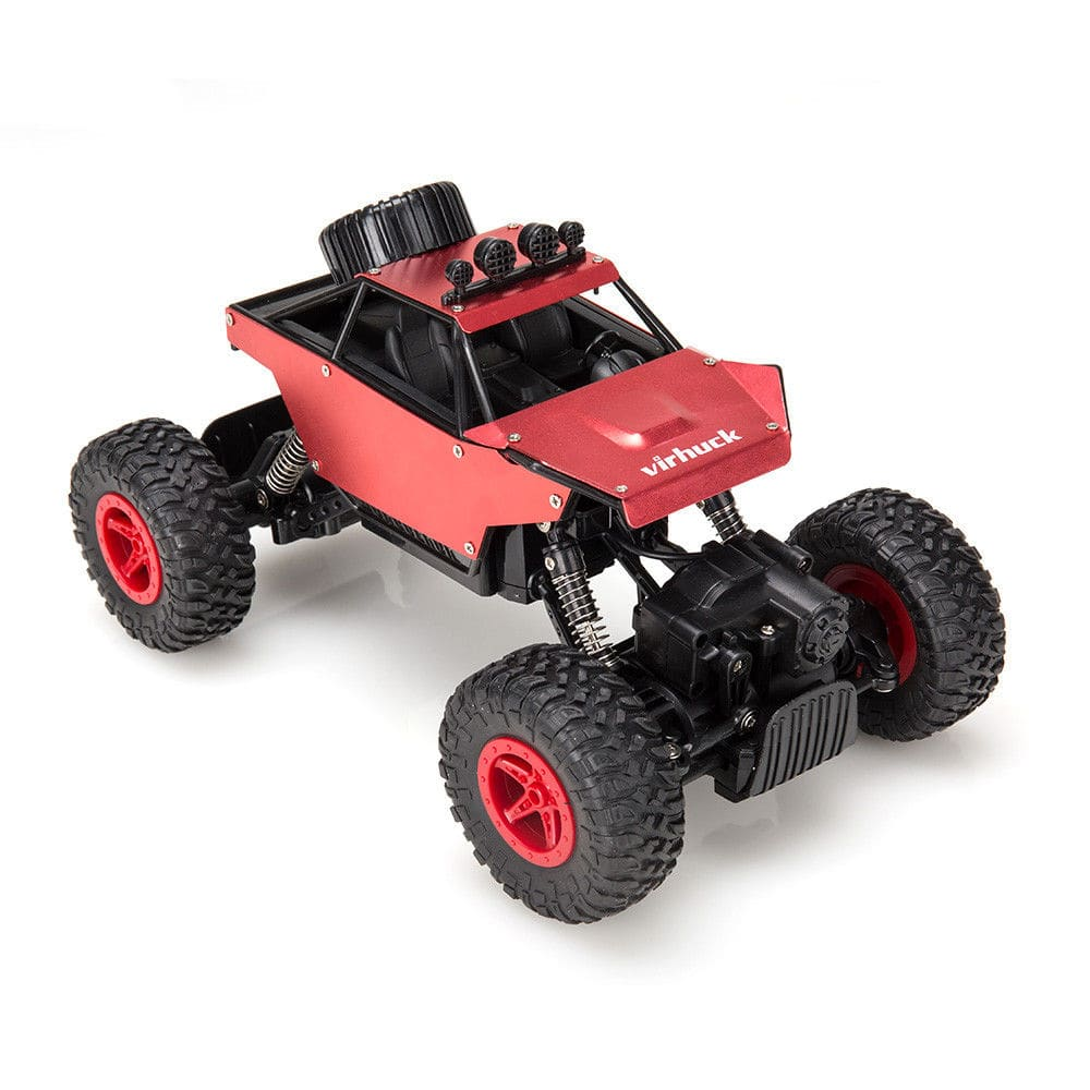 62% off 2.4GHz 4WD 1/18 Scale RC Car Truck for $9.99 + FS @eBay