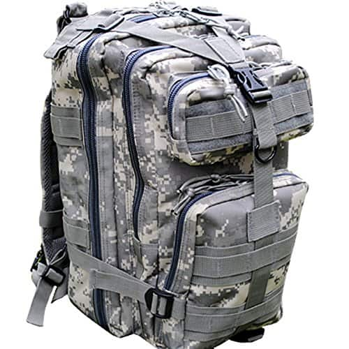 30L Outdoor Tactical Backpack Military Rucksacks for Camping Hiking and Trekking $9.99 + FS w/Prime