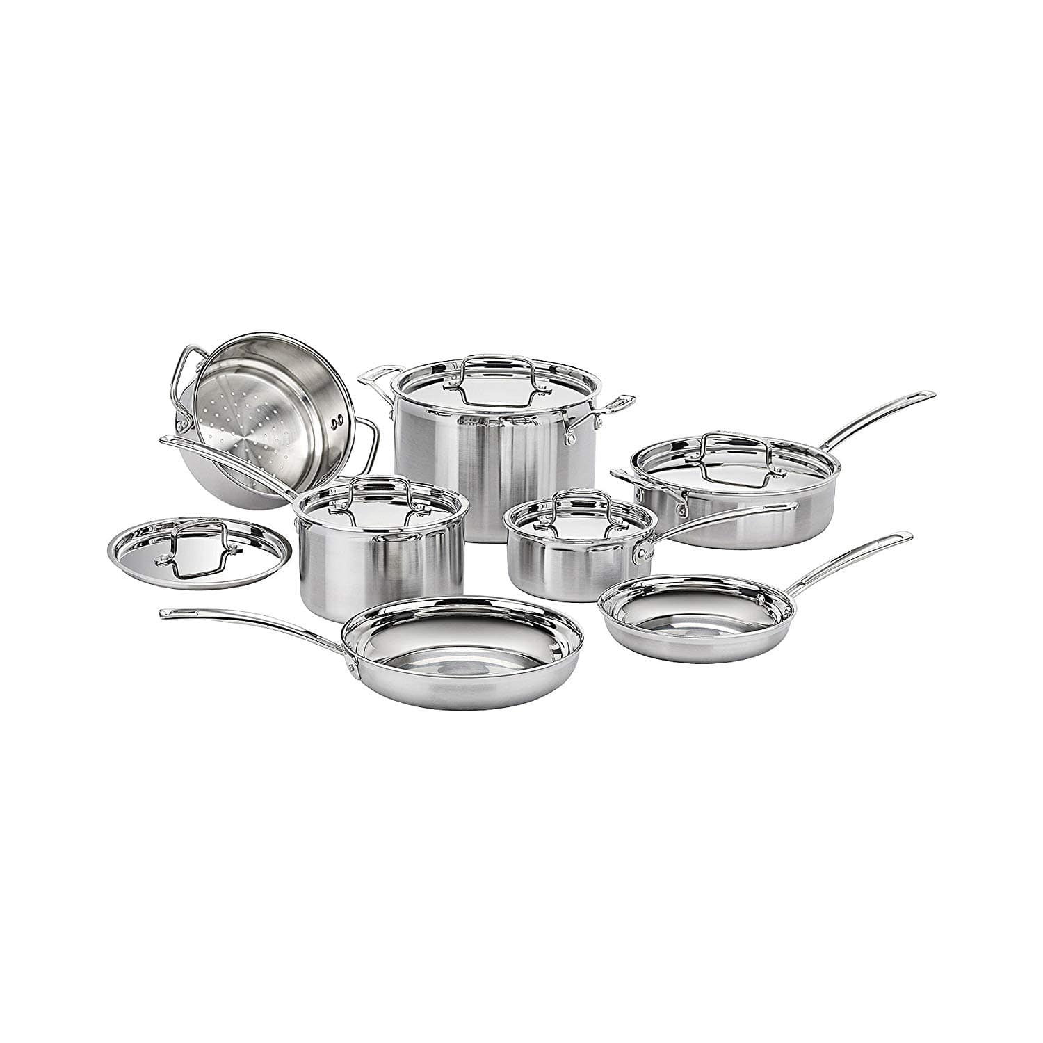 Cuisinart MCP-12N Multiclad Pro Stainless Steel 12-Piece Cookware Set $168 @ Amazon + Free Shipping