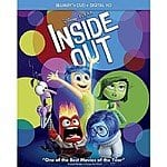 Target preorder deals: Inside Out (Blu-ray, DVD, Digital Copy) $22.99 FS with $5 Target GC. Jurassic World, Pitch Perfect 2, Minions, Mission Impossible: Rogue Nation