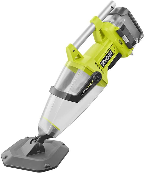 RYOBI ONE+ Lithium-Ion Underwater Stick Vacuum Kit (Certified Pre-Owned) + 2ah Battery + Wireless Charger $75.99 Free Shipping