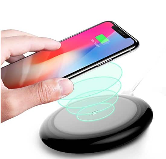5W Slim Wireless Charging Pad with Resistant Water TPU Case $7.94+FS@Amazon.