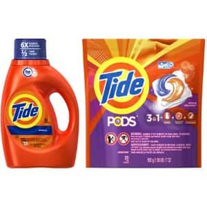 20 count Tide Pods (various scents) 2.99 $2.99